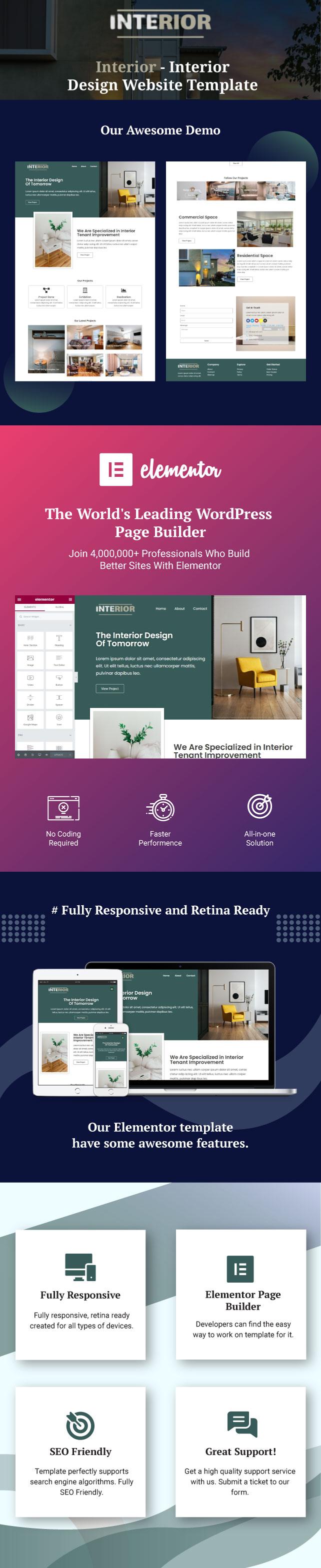 Interior-Interior-design-website-template