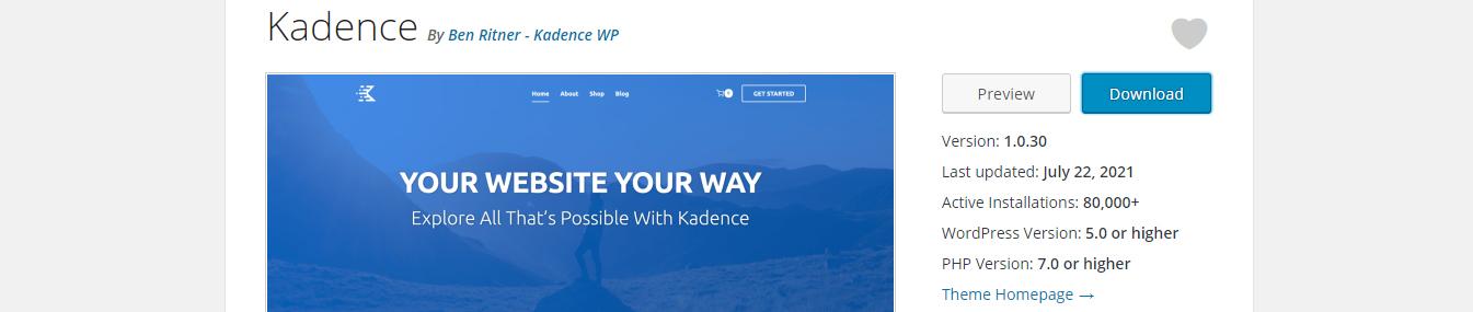 kadence-free-wordpress-theme