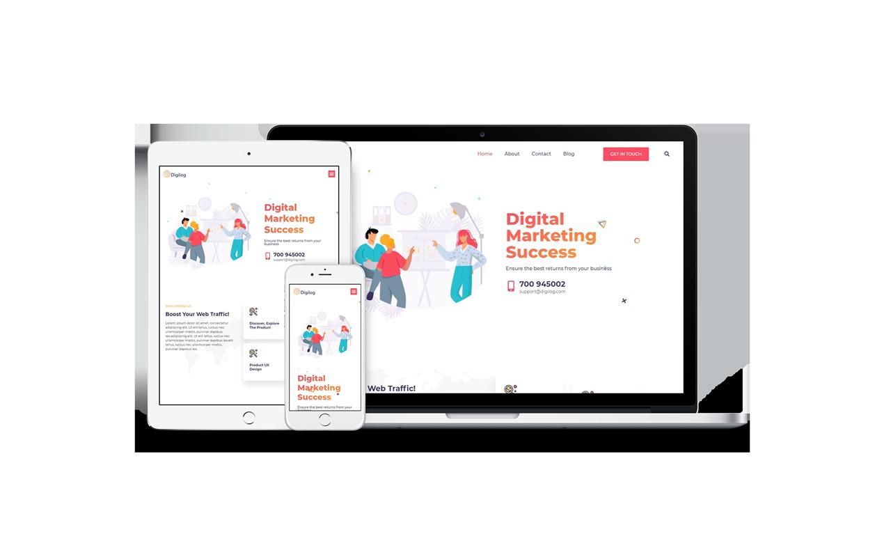 digilog-digital-marketing-agency-template-pack
