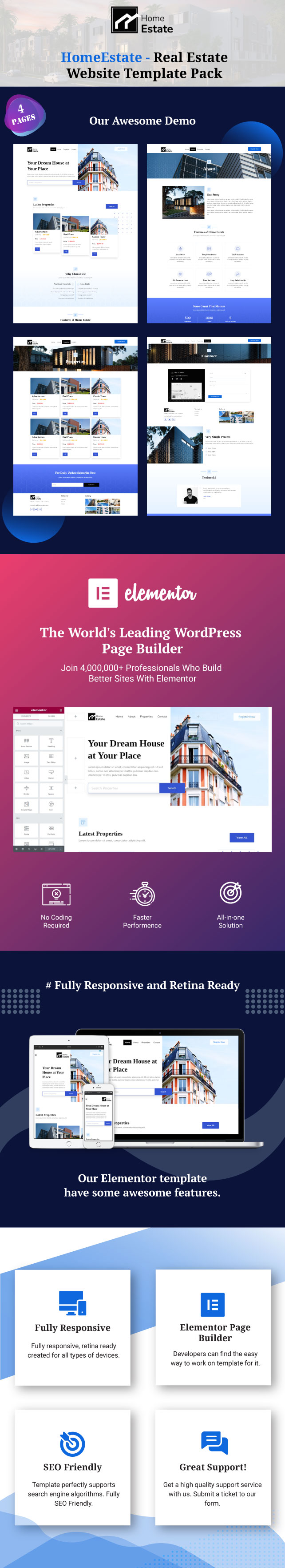 homeestate-real-estate-template-pack