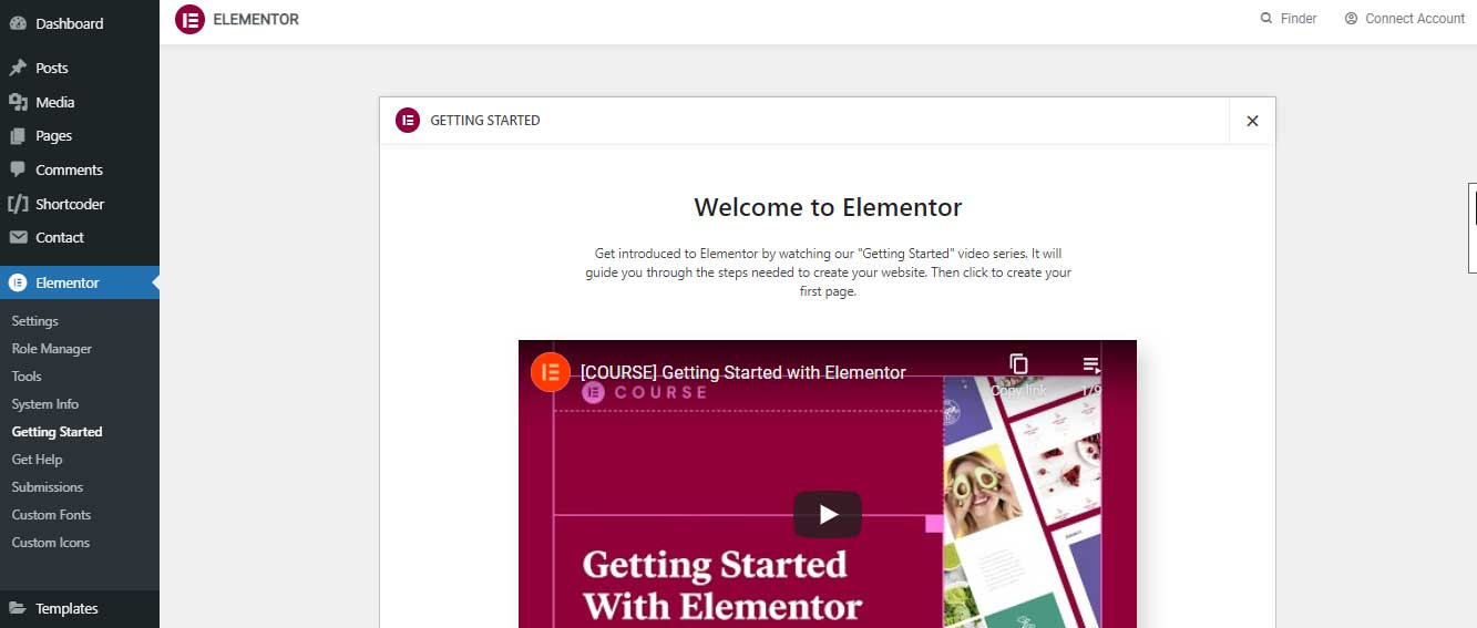 get-started-with-elementor