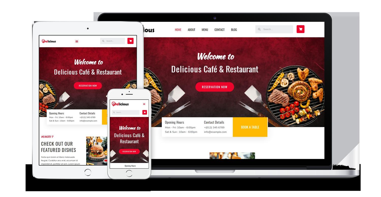 delicious-restaurant-website-template-pack